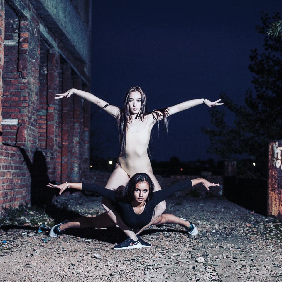 Прекрасные демоны ночи @arslnv и @kchusovitina. Фотограф : @amirgumerov_photographer @teamsportgala